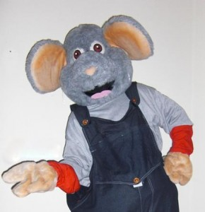 mascotte muis huren